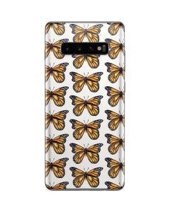 Monarch Butterflies Galaxy S10 Plus Skin