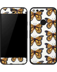 Monarch Butterflies Google Pixel Skin