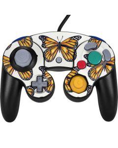 Monarch Butterflies Nintendo GameCube Controller Skin