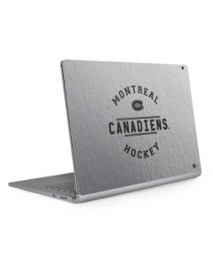 Montreal Canadiens Black Text Surface Book 2 15in Skin