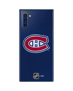 Montreal Canadiens Distressed Galaxy Note 10 Skin