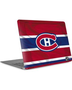Montreal Canadiens Home Jersey Apple MacBook Air Skin