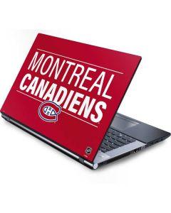Montreal Canadiens Lineup Generic Laptop Skin