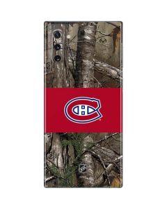 Montreal Canadiens Realtree Xtra Camo Galaxy Note 10 Skin