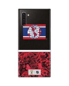 Montreal Canadiens Retro Tropical Print Galaxy Note 10 Skin