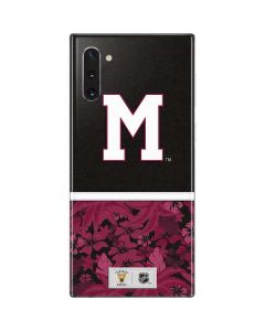 Montreal Maroons Retro Tropical Print Galaxy Note 10 Skin