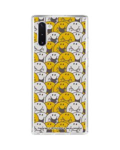 Mr Happy Collage Galaxy Note 10 Clear Case