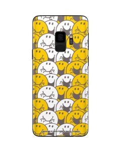 Mr Happy Collage Galaxy S9 Skin