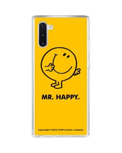 Mr Happy Galaxy Note 10 Clear Case