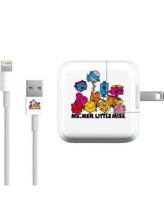 Mr Men Little Miss and Friends iPad Charger (10W USB) Skin