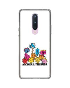 Mr Men Little Miss and Friends OnePlus 8 Clear Case