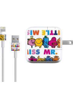 Mr Men Little Miss Characters Bold iPad Charger (10W USB) Skin