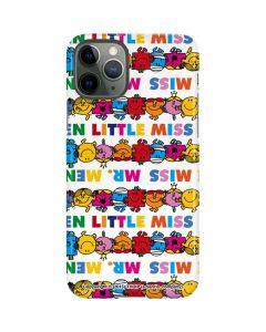Mr Men Little Miss Characters Bold iPhone 11 Pro Lite Case