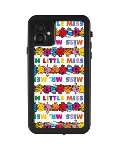 Mr Men Little Miss Characters Bold iPhone 11 Waterproof Case