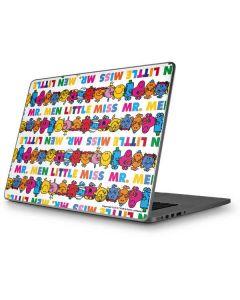 Mr Men Little Miss Characters Bold Apple MacBook Pro 17-inch Skin