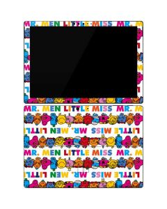 Mr Men Little Miss Characters Bold Surface Pro 7 Skin