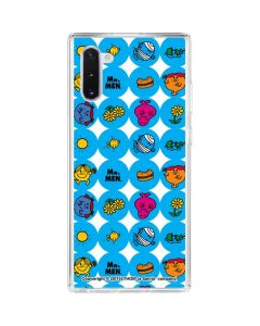 Mr Men Little Miss Geometric Galaxy Note 10 Clear Case