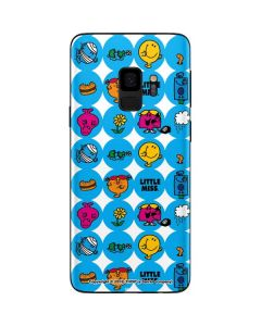 Mr Men Little Miss Geometric Galaxy S9 Skin