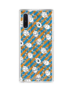 Mr Tickle Striped Galaxy Note 10 Clear Case