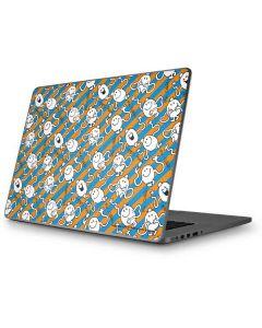 Mr Tickle Striped Apple MacBook Pro 17-inch Skin