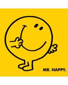 Mr Happy Apple Charger Skin