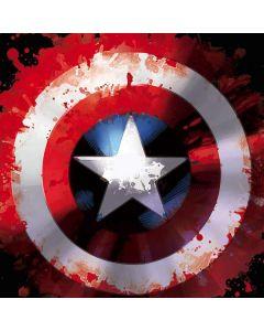 Captain America Shield Dell Inspiron Skin