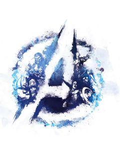 Avengers Blue Logo Nintendo Switch Joy Con Controller Skin