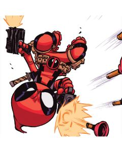 Deadpool Baby Fire Dell Inspiron Skin