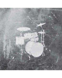 Faded Drumset Generic Laptop Skin