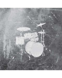 Faded Drumset Zenbook UX305FA 13.3in Skin