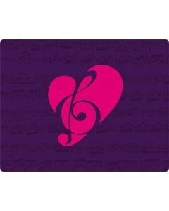Purple Musical Notes HP Pavilion Skin