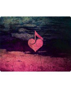 Rustic Musical Heart Generic Laptop Skin