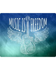 Music Is Freedom Galaxy Book Keyboard Folio 12in Skin