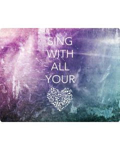 Sing With All Your Heart Generic Laptop Skin