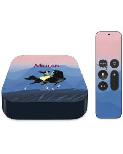 Mulan and Khan Apple TV Skin