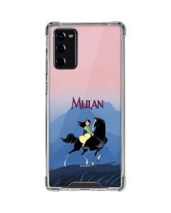 Mulan and Khan Galaxy Note20 5G Clear Case