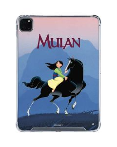 Mulan and Khan iPad Pro 11in (2020) Clear Case