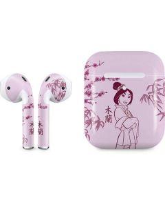 Mulan Apple AirPods 2 Skin