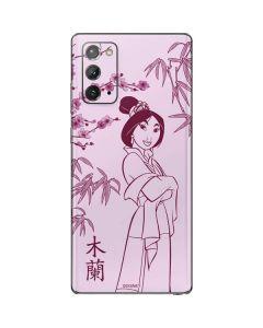 Mulan Galaxy Note20 5G Skin