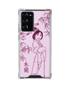 Mulan Galaxy Note20 Ultra 5G Clear Case