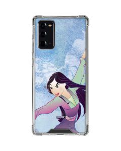 Mulan in Training Galaxy Note20 5G Clear Case