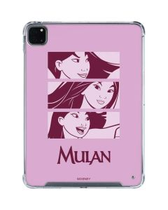 Mulan Personalities iPad Pro 11in (2020) Clear Case