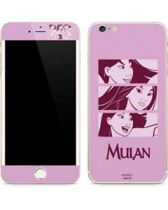 Mulan Personalities iPhone 6/6s Plus Skin