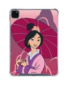 Mulan Umbrella iPad Pro 11in (2020) Clear Case