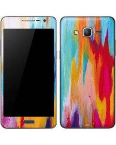 Multicolor Brush Stroke Galaxy Grand Prime Skin