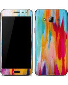 Multicolor Brush Stroke Galaxy J3 Skin