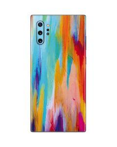 Multicolor Brush Stroke Galaxy Note 10 Plus Skin