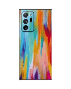 Multicolor Brush Stroke Galaxy Note20 Ultra 5G Skin