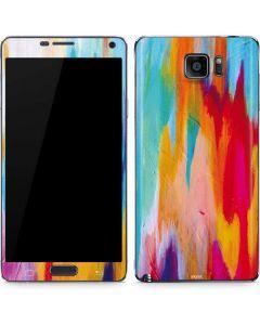 Multicolor Brush Stroke Galaxy Note5 Skin