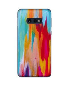 Multicolor Brush Stroke Galaxy S10e Skin